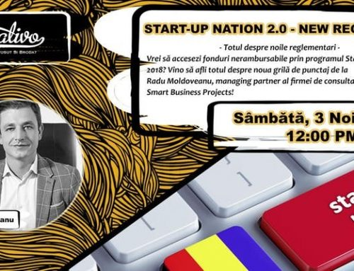 Start-Up Nation – conferinta oamenilor cu spirit antreprenorial
